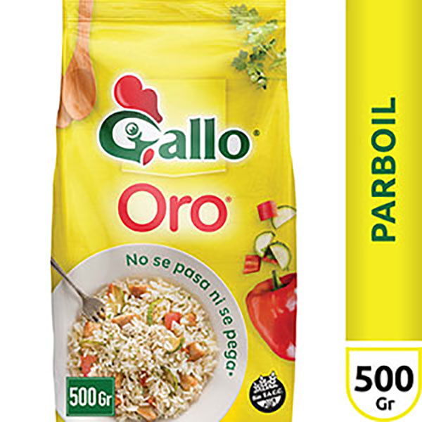 GALLO ARROZ ORO X500G