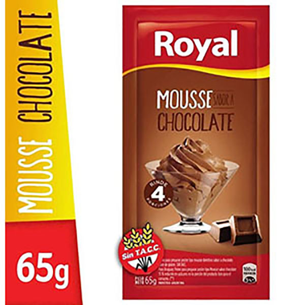 ROYAL MOUSSE CHOCOLATE X65G