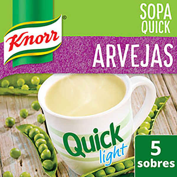 KNORR QUICK SOPA LIGHT ARVEJAS
