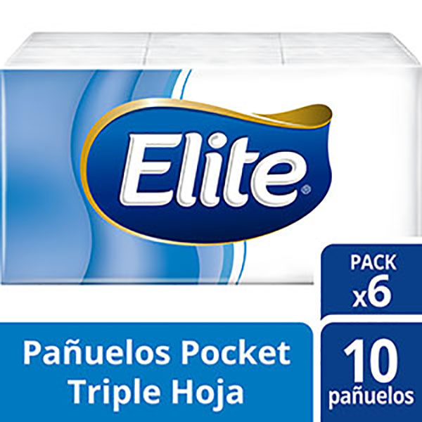 ELITE PAnUELOS POCKET 6X10U