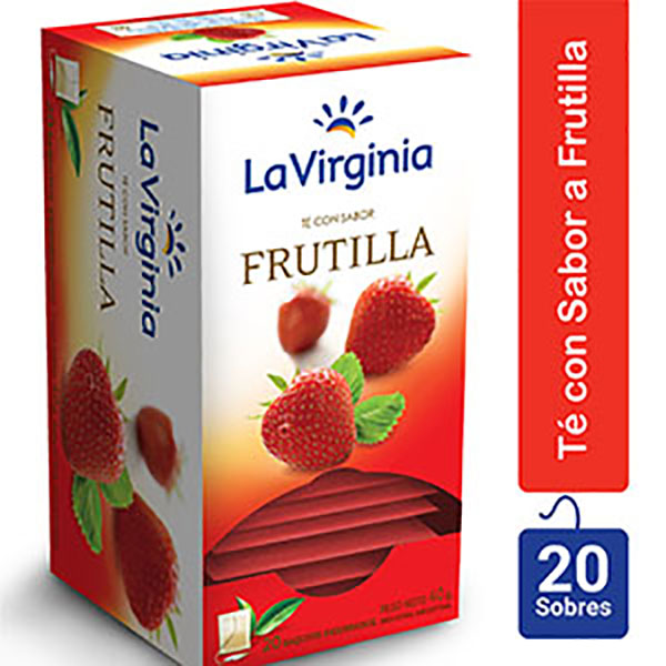 LA VIRGINIA TE FRUTILLA X20U