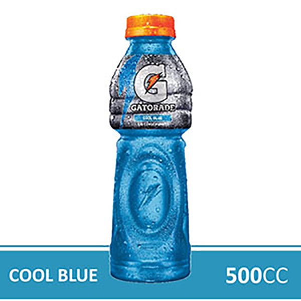 GATORADE FIERCE COOL BLUEX500