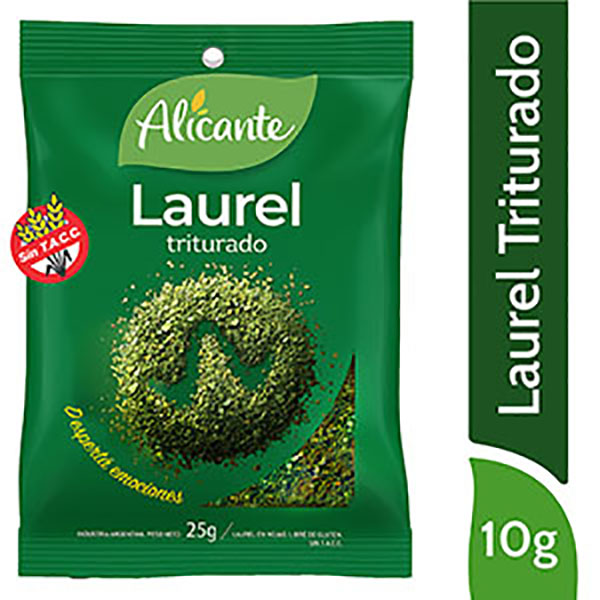 ALICANTE LAUREL TRITURADO X25G