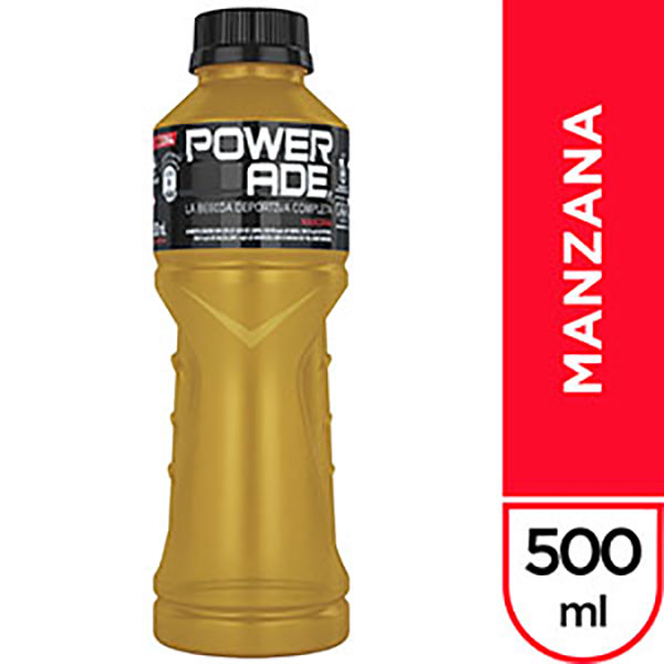 POWERADE MANZANA X 500CC