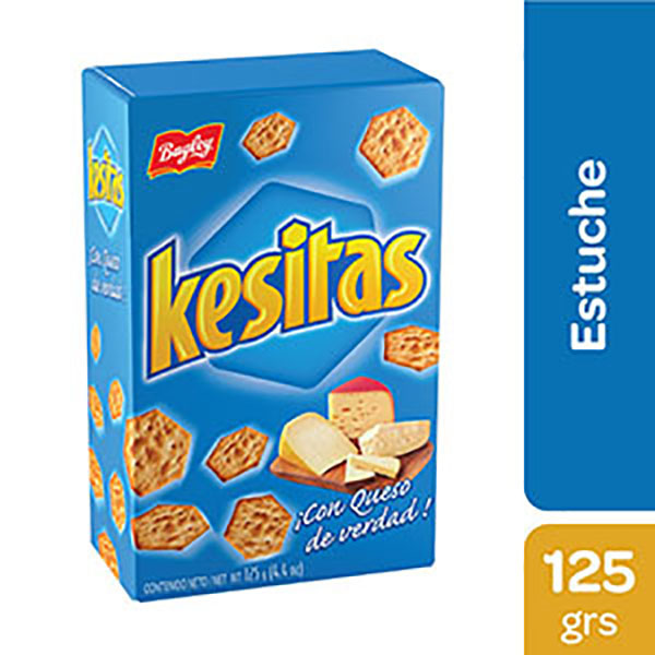 KESITAS GALLETITAS X125G