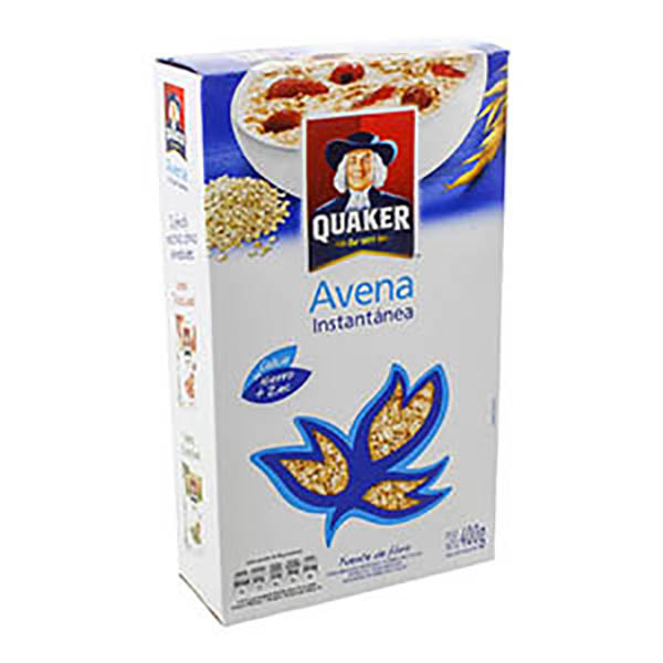 QUAKER AVENA INST.FORT.X400GR