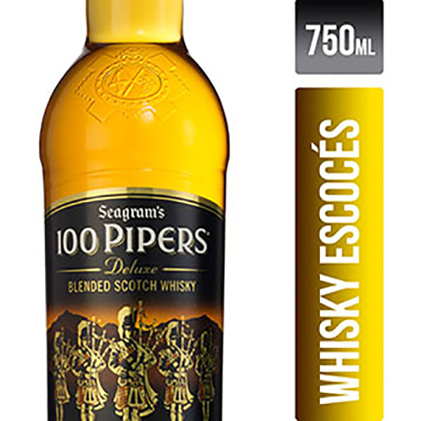 100 PIPERS WHISKY X750CC