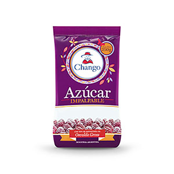 CHANGO AZUCAR IMPALPABLE X250G