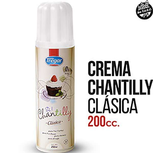 TREGAR CREMA CHANTILLY X250ML