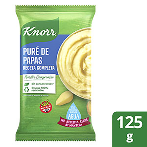 KNORR LISTO PURE PAPA COMP.X125G