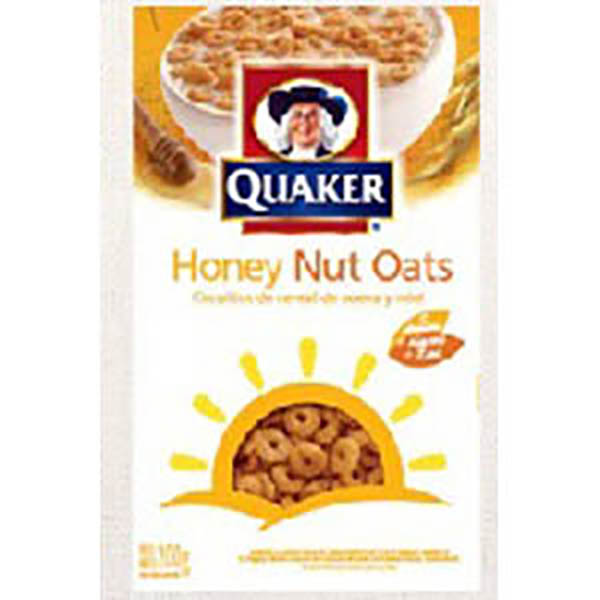 QUAKER CEREAL HONEY NUT X200G