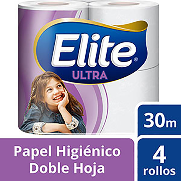 ELITE PAPEL HIGIENICO DH ULTRA 4U