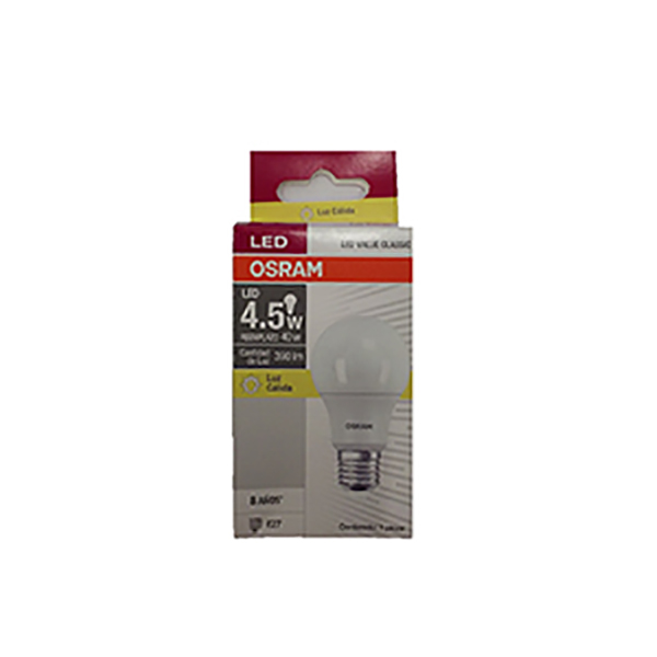 OSRAM LAMPARA LED VALUE 5 CALIDO