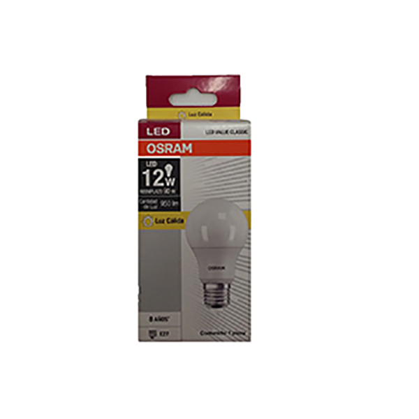 OSRAM LAMPARA LED VALUE 12 CALIDO