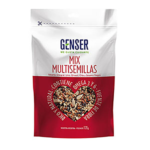 GENSER MIX MULTISEMILLAS D/P X120GR