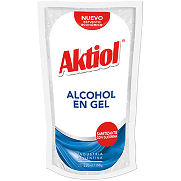 AKTIOL ALCOHOL EN GEL D/P X220ML