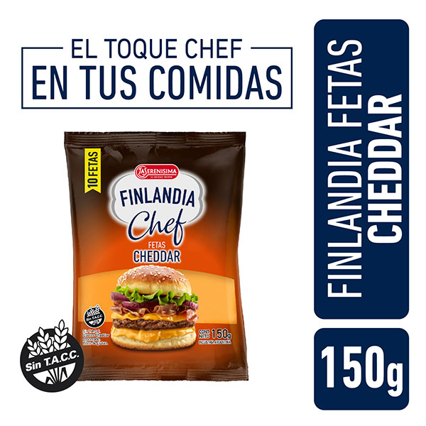 FINLANDIA QUESO CHED.FET.X150G