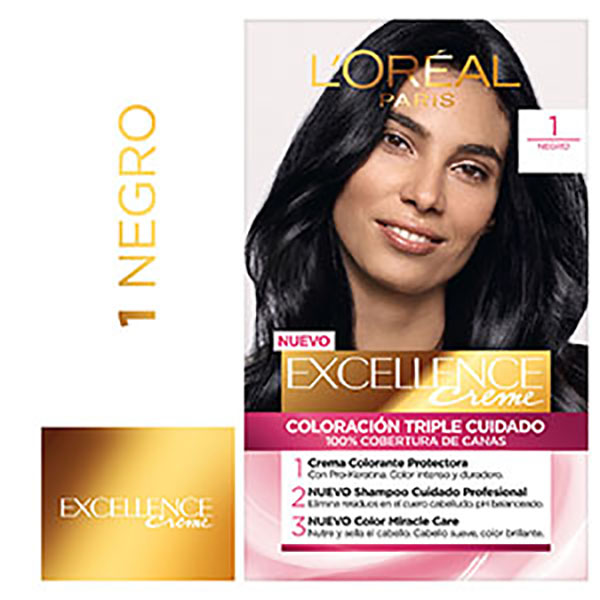 EXCELLENCE TINTURA 1 COLORAC.NEGRO KIT