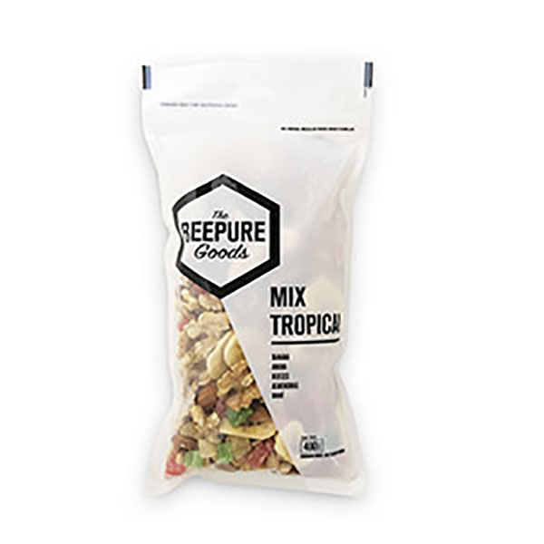 BEEPURE FRUTOS SECOS TROP.BSA 400G