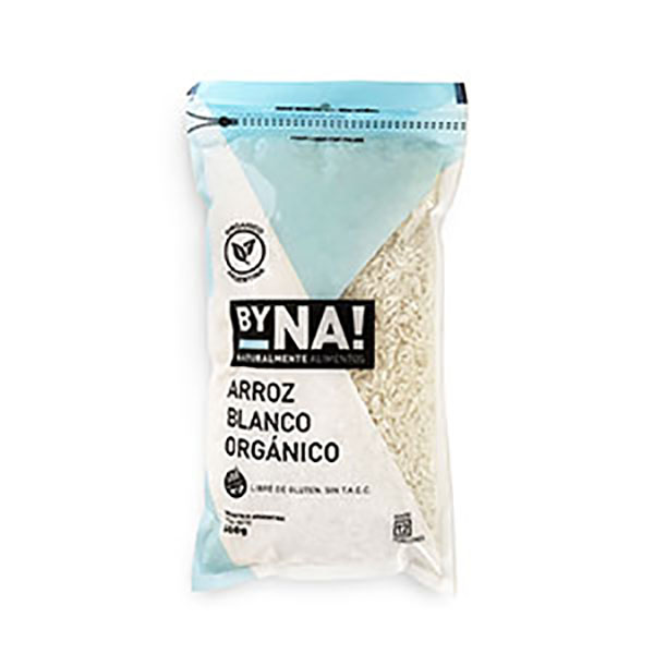 BYNA! ARROZ BLANCO ORGAN.X600G