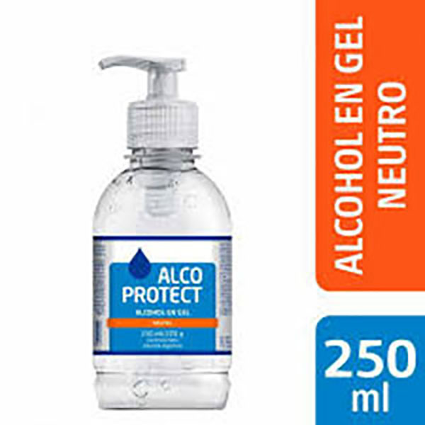 ALCOPROTECT ALCOHOL EN GEL X250ML